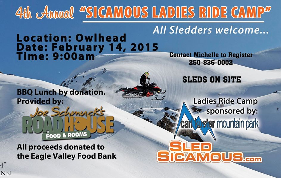 4thAnnual Sicamous Ladies Ride